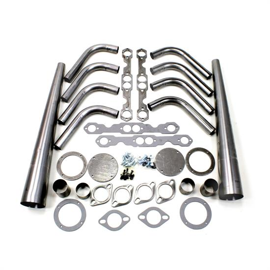 Patriot Exhaust H8002 Header Lakester Weld-up Kit SBC