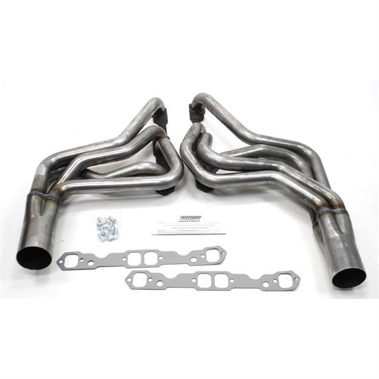 Patriot Exhaust H8038 Circle Track Header, Street Stock, 78-86 SBC