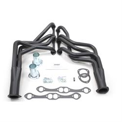 Patriot Exhaust H8047-B Full Length Header, 64-89 Chevy Chevy, Black