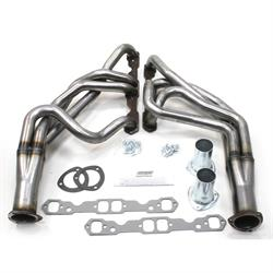 Patriot Exhaust H8050 Tri-5 Header, 55-57 SBC, Raw Steel