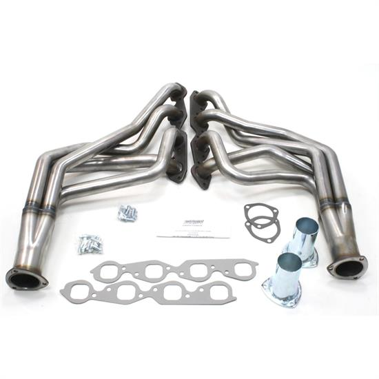 Patriot Exhaust H8054 Header, 73-87 Chevy Truck BBC, Raw, 1-3/4 Inch