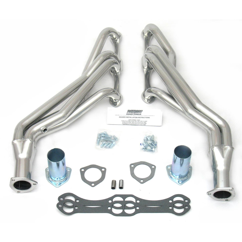 For Chevy GMC Truck Chevrolet C//K1500 C//K2500 V8 Small Block Exhaust Header New