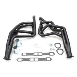 Patriot Exhaust H8207-B Full Length Header, 67-74 Mopar B-Body, Black