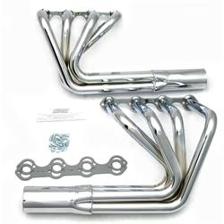 Patriot Exhaust H8470 Roadster Header, Street Rod, SBF, Chrome