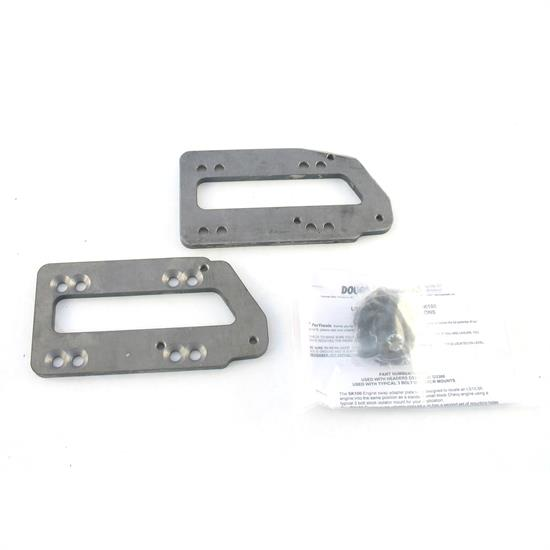 Doug's Headers SK100 Motor Mount Adapter Plate Kit, LS Engines