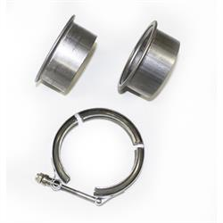 JBA PerFormance Exhaust VB25 Stainless Steel V-Band Clamp, 3 In