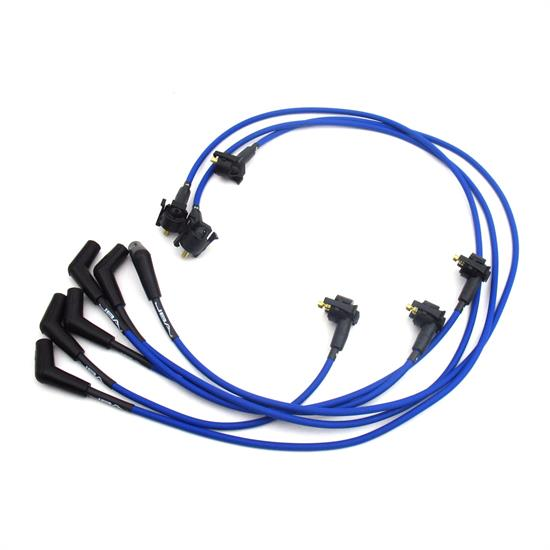 JBA PerFormance Exhaust W06189 Ignition Wires, 99-00 Mustang 3.8L Blue
