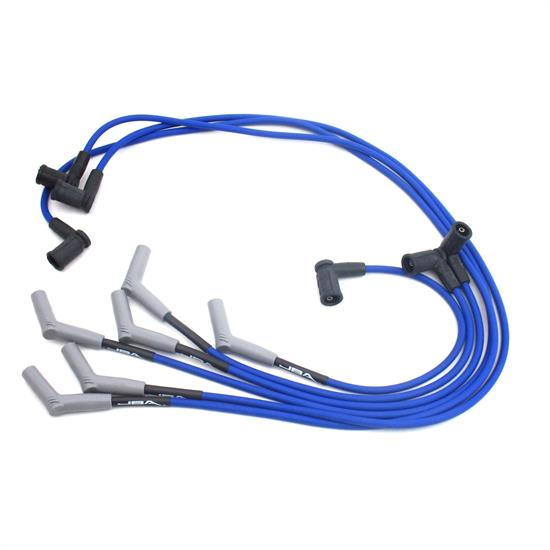 JBA PerFormance Exhaust W06719 Ignition Wires, Ford 01-03 4.2L Blue