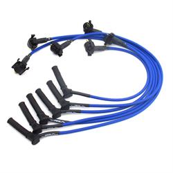 JBA PerFormance Exhaust W06759 Ignition Wires, 01-10 Ford Blue