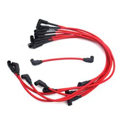 JBA PerFormance Exhaust W0830 Ignition Wires, 88-95 GM Truck Red