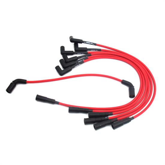 JBA PerFormance Exhaust W0842 Ignition Wires, 96-05 GM 4.3L Truck Red