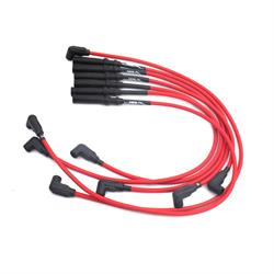 JBA PerFormance Exhaust W0939 Ignition Wires, 92-02 Dodge Truck Red