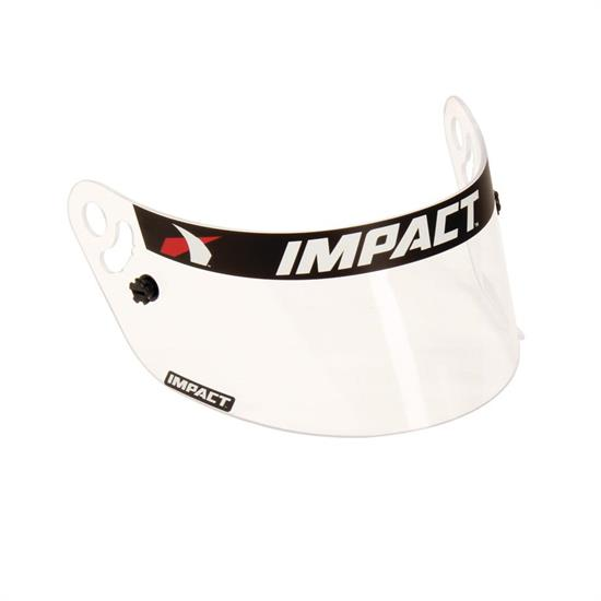 Impact Racing 12199901 Clear Shield, Vapor/Charger Helmets, Fog Free