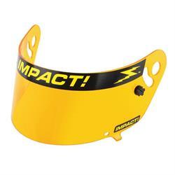 Impact Racing 12100904 Amber Shield-Charger/Vapor/Carbon Fiber Draft