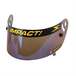 Impact Racing 12100906 Iridium Shield-Charger/Draft/Vapor Air Helmets