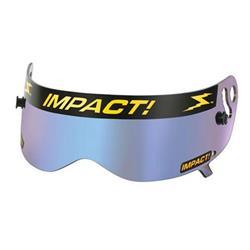 Impact Racing 13100906 Shield for Champ Helmets, Iridium