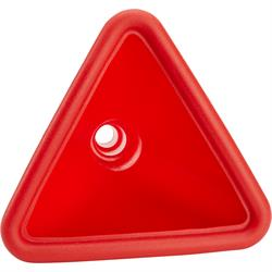 JAZ Products 550-014-06 Triangular Red Funnel Without Filter