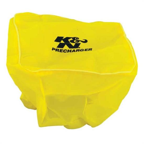 K&N 100-8569PY PreCharger Air Filter Wrap, 6.5in Tall, Yellow