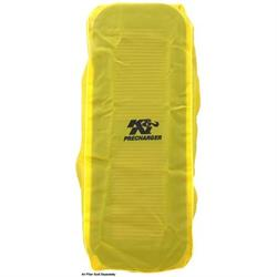 K&N 100-8570PY PreCharger Air Filter Wrap, 7.5in Tall, Yellow