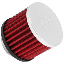 K&N 62-1440 Vent Air Filter/Breather, 2.5 in. Tall, 3 in. OD