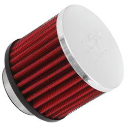 K&N 62-1460 Vent Air Filter/Breather, 2.5 in. Tall, 3 in. OD
