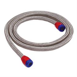 Spectre 19190 Braided Stainless Steel-Flex Vacuum Hose, 5/32 In x 3 Ft