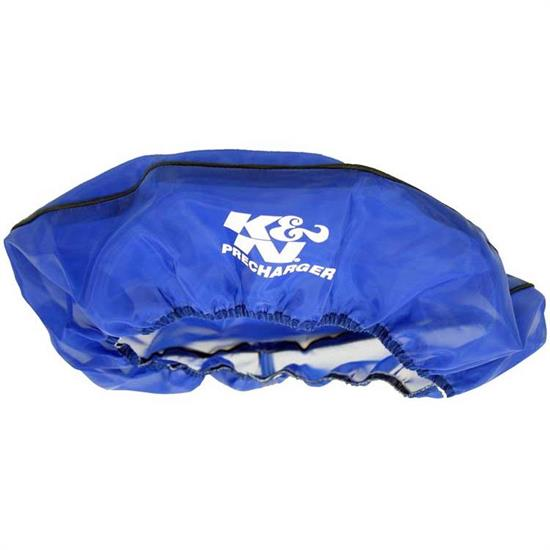 K&N 22-1430PL PreCharger Air Filter Wrap, 3in Tall, Blue