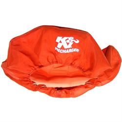 K&N 22-1430PR PreCharger Air Filter Wrap, 3in Tall, Red
