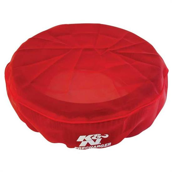 K&N 22-1440PR PreCharger Air Filter Wrap, 4in Tall, Red