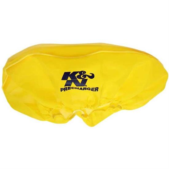 K&N 22-1440PY PreCharger Air Filter Wrap, 4in Tall, Yellow