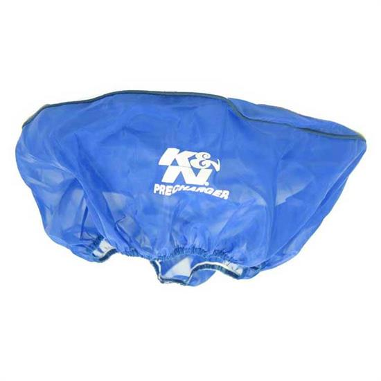K&N 22-1450PL PreCharger Air Filter Wrap, 5in Tall, Blue