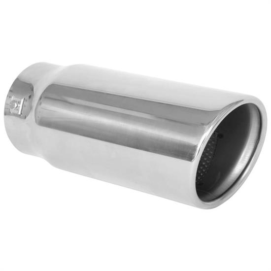 Spectre 22421 Exhaust Tip, Stainless, 3.75 Inlet/4.5 Outlet, Slant