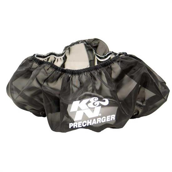 K&N 22-8001PK PreCharger Air Filter Wrap, 4in Tall, Black