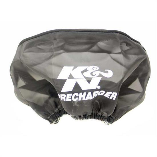 K&N 22-8018PK PreCharger Air Filter Wrap, 3.5in Tall, Black
