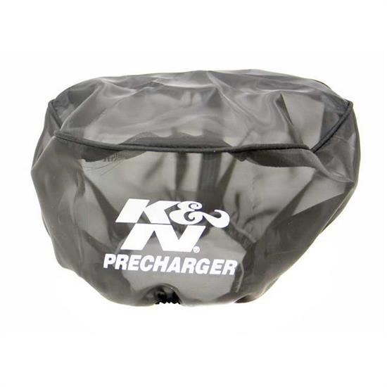 K&N 22-8019PK PreCharger Air Filter Wrap, 4in Tall, Black