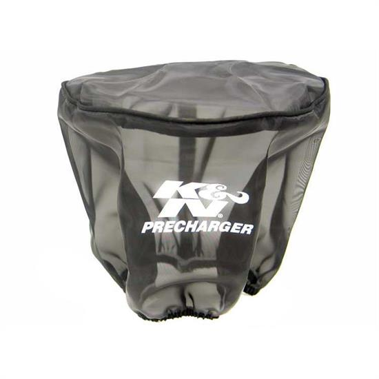 K&N 22-8021PK PreCharger Air Filter Wrap, 6in Tall, Black
