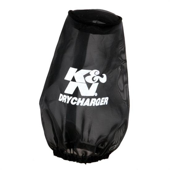 K&N 22-8030DK DryCharger Air Filter Wrap, 6in Tall, Black