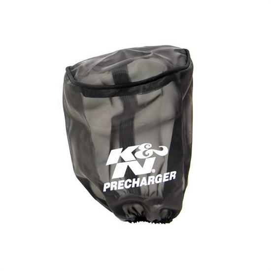K&N 22-8031PK PreCharger Air Filter Wrap, 6.5in Tall, Black