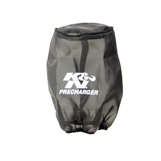 K&N 22-8032PK PreCharger Air Filter Wrap, 7in Tall, Black