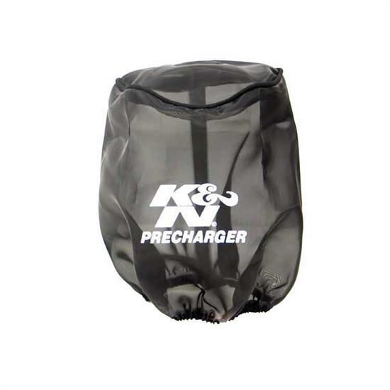 K&N 22-8033PK PreCharger Air Filter Wrap, 6in Tall, Black