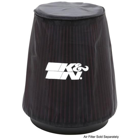 K&N 22-8038DK PreCharger Air Filter Wrap, 8in Tall, Black
