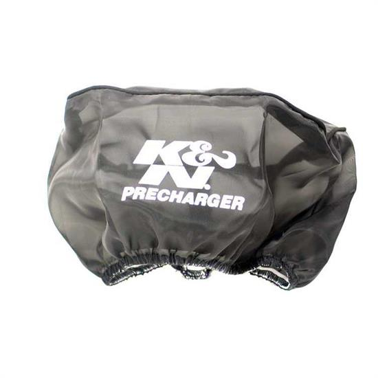 K&N 22-8042PK PreCharger Air Filter Wrap, 4in Tall, Black