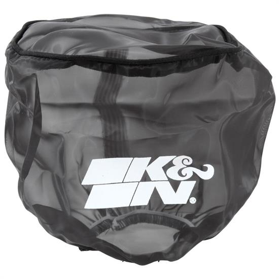 K&N 22-8045DK DryCharger Air Filter Wrap, 6in Tall, Black