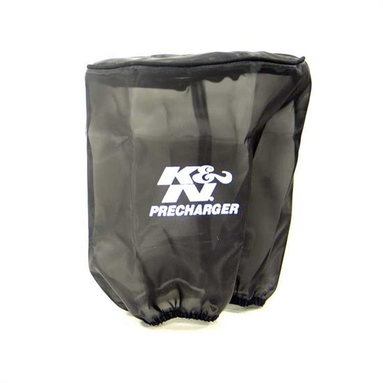K&N 22-8050PK PreCharger Air Filter Wrap, 8in Tall, Black