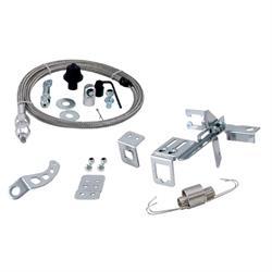 Spectre 2435 2 Ft Braided Housing Carburetor Throttle Cable Kit