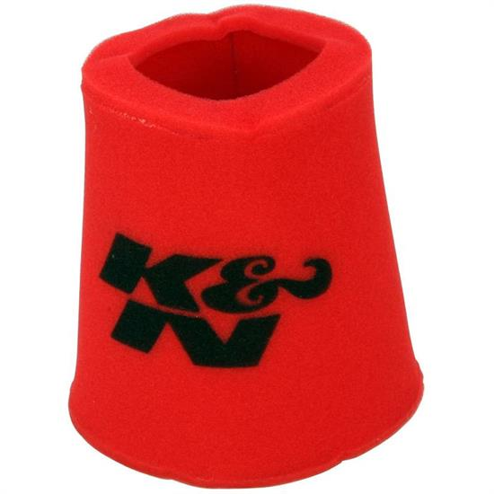 K&N 25-0810 Airforce Air Filter Foam Wrap, 9in Tall, Red