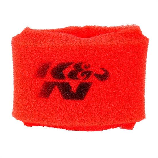 K&N 25-1480 Airforce Air Filter Foam Wrap, 2.5in Tall, Red