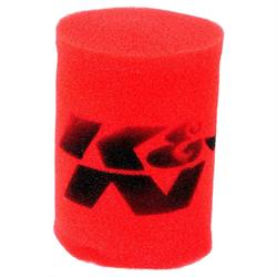 K&N 25-1770 Airforce Air Filter Foam Wrap, 6in Tall, Red