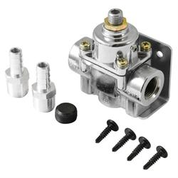 Spectre 2518 Fuel Pressure Regulator, Inline, 1 - 5.5 PSI, Each