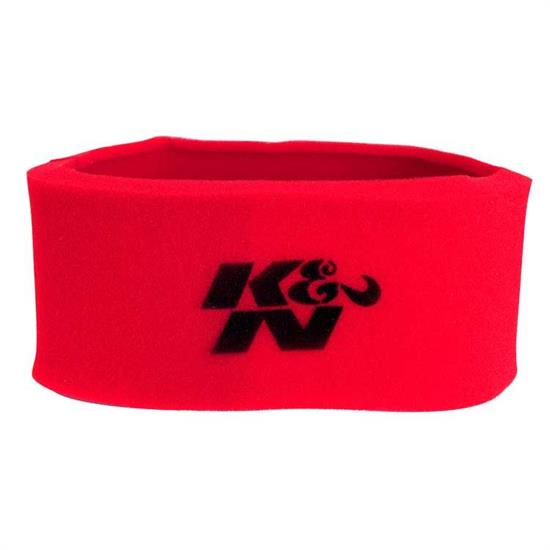 K&N 25-1966 Airforce Air Filter Foam Wrap, 6in Tall, Red